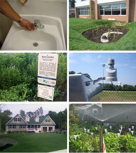 Examples of Water Conservation